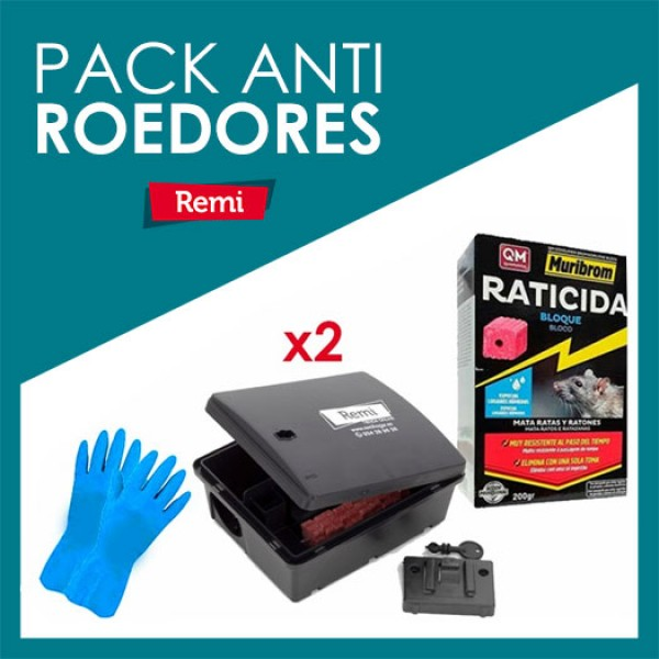 Pacote anti-roedores completo