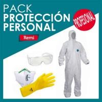 Profissional usar proteção pessoal Pack