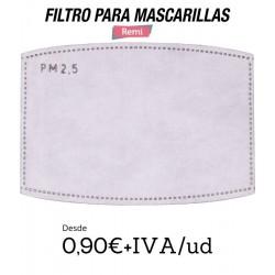 Filtros de máscara pm 2.5