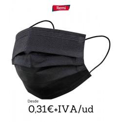 Máscaras de camada preta tripla