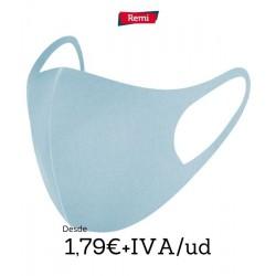 Máscara Higiênica Azul Reutilizável